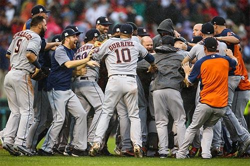 Beisebol_Houston Astros é o grande campeão da MLB em 2017 / Foto: Getty Images/Major League Baseball