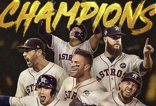 Os Houston Astros podem ser campeões de novo da World Series? / Foto: Hollywood Replay via Facebook