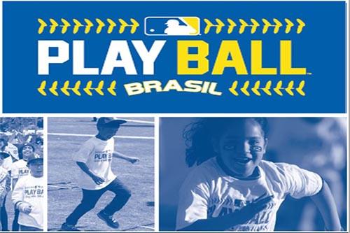 Major League Baseball realiza evento para crianças no Brasil   Foto   Divulgação b51e7713603