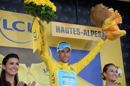 Vincenzo Nibali, líder com folga do Tour / Foto: ASO / Presse Sports