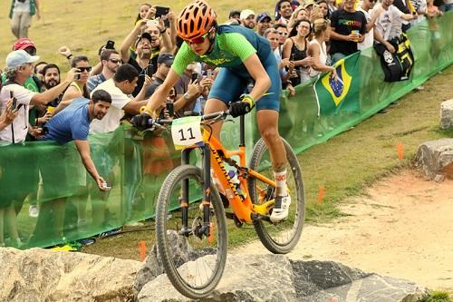 Atletas do mountain bike disputaram no fim de semana o Cross Country Olímpico (XCO) em Deodoro / Foto: Marcelo Pereira/Exemplus/COB