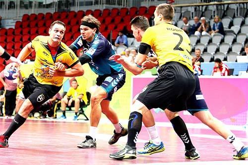 bb067ac93545b Taubaté é superado pelo Berlin   Foto  Divulgação Super Globe Qatar Handball