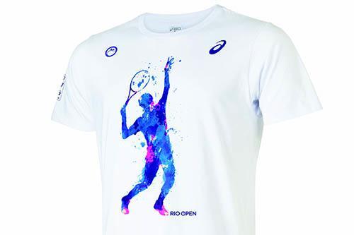 f1f8d035535 Torneio de tênis terá bolsas e capa de raquete personalizadas e sob  encomenda