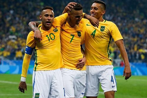 A equipe brasileira já enfrentou a Seleção Olímpica de Honduras 32bd805e7402f