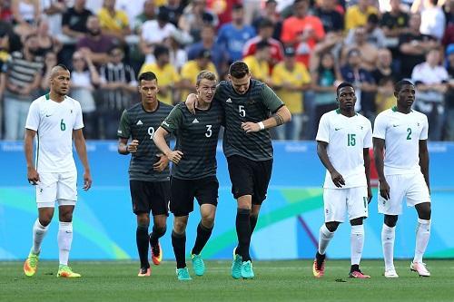 Alemanha passa pela Nigéria e encontra o Brasil na final do futebol ... ac68e7360b50c